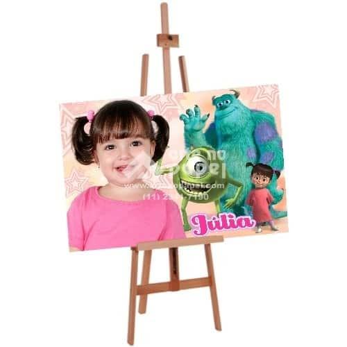 painel com tema arte no papel lembrancinhas personalizadas com foto