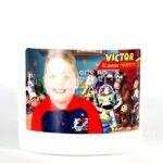 baldinho de pipoca arte no papel lembrancinhas personalizadas com foto