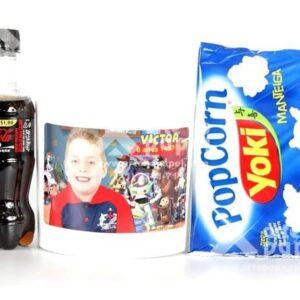 kit cinema arte no papel lembrancinhas personalizadas com foto