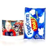 kit pipoca arte no papel lembrancinhas personalizadas com foto